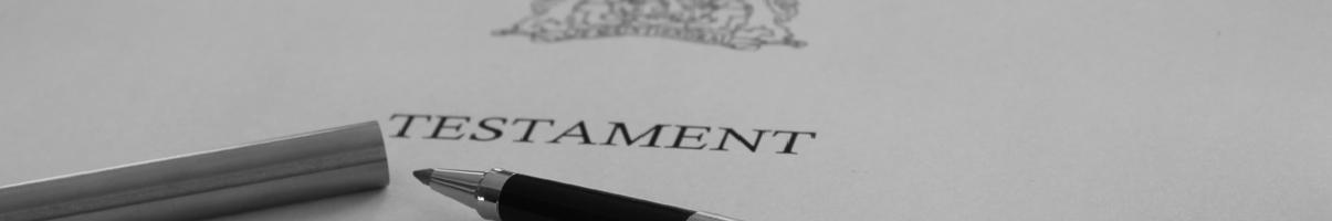 nalatenschap, testament en erven